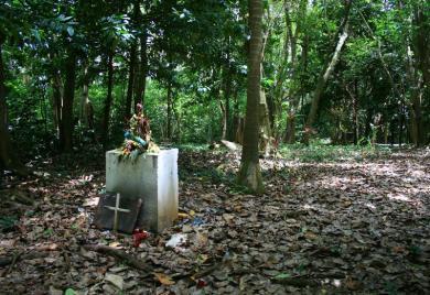 cimetière des esclaves